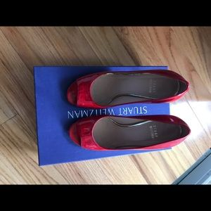 Stuart Weitzman red pumps size 5